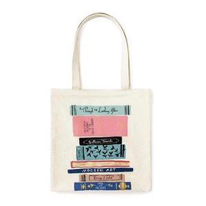🆕 Kate Spade ♠️ NY Classics Canvas Book Tote NWT